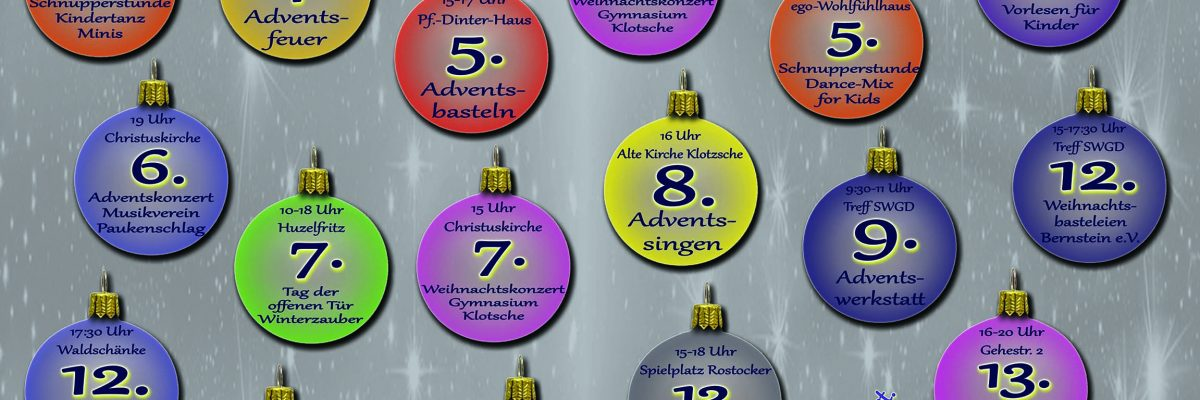 Advent im Dresdner Norden 2019