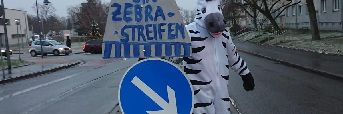 Zebrastreifen erwünscht!